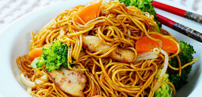 Chicken Noodles